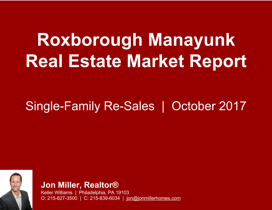 Roxborough Manayunk Real Estate Report.1017